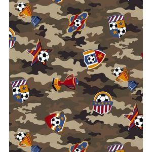 Anti-Pill Soccer Camo Fleece 92