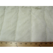 Misc Long Pile Minky Fur Solids IVORY PELTED