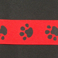 "Paws Red 3/8"" 7/8"" 1 1/2"""
