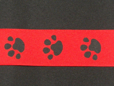 Paws Red 3/8
