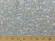 Embroidered Glitz Sequins SILVER