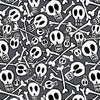 Premium Anti-Pill Skullduggery Skulls Fleece 6