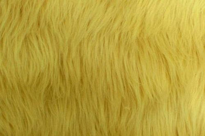 Long Pile Shaggy Fur LIGHT GOLD
