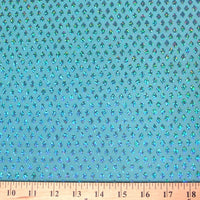 SWATCHES Diamond Sequin Hologram Spandex