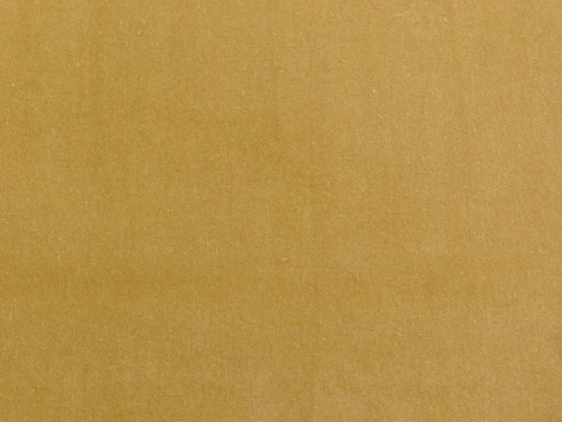 100% Cotton Med/Light Weight Velvet GOLD