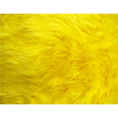 Long Pile Shaggy Fur YELLOW