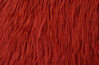 Mongolian Fur DARK RED