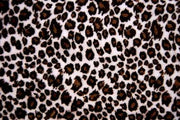 Cheetah Minky Cuddle Fur BROWN PINK