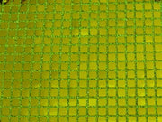 Square Sequins LIME GREEN