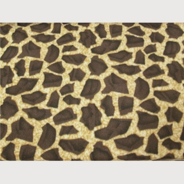 Anti-Pill Brown Giraffe Fleece 92