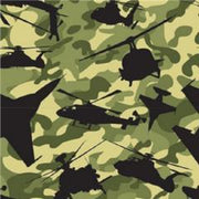 Anti-Pill Air Force Camo Green Fleece 97
