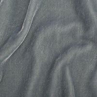 "Plush Silk Velvet 54"" Wide ASH BLUE"