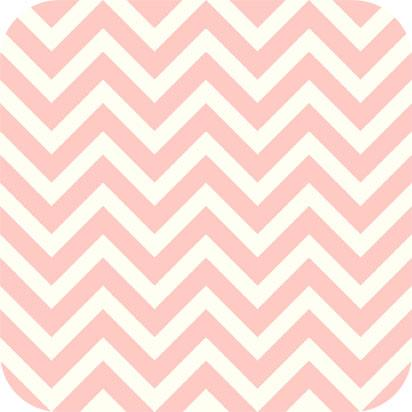 Chevron Charmeuse Satin BLUSH WHITE SP-13