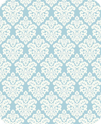 Victorian Damask BABY BLUE SP-17