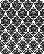 Victorian Damask BLACK SP-18