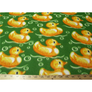 Ducks Green Fleece 121