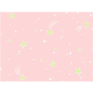 Anti-Pill Shooting Stars Pink Fleece A49