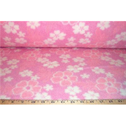 Hawaiian Floral Pink Fleece