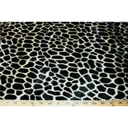 Velboa Animal Skins Fur Giraffe Brown