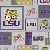 Premium Anti-Pill LSU Louisianna Fleece B905