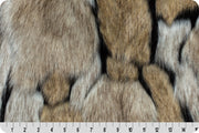 Wolverine Taupe Black Fur MF-81