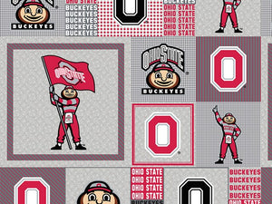 Premium Anti-Pill Ohio State Fleece B909