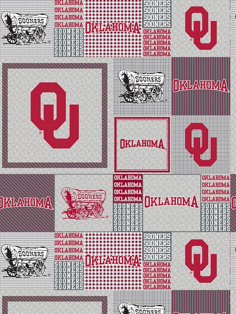 Premium Anti-Pill Oklahoma Sooners Fleece B918
