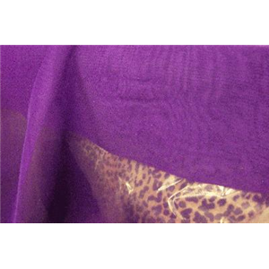 Chiffon 44 Inch Wide DARK PURPLE