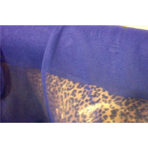 Chiffon 44 Inch Wide ROYAL BLUE