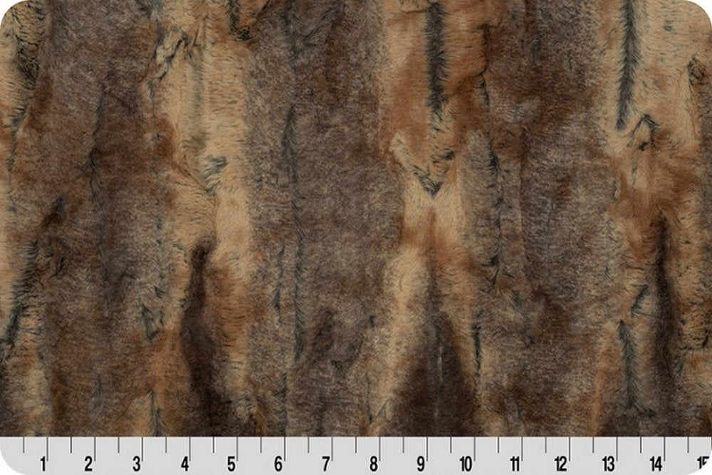 Soft Cuddle Fur RED FOX AMBER/TAUPE SF-22