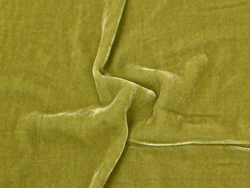 "Plush Silk Velvet 54"" Wide SAGE"