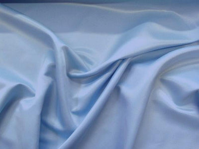 Stretch Heavy Weight Lamour Dull Satin SKY BLUE SLS-29