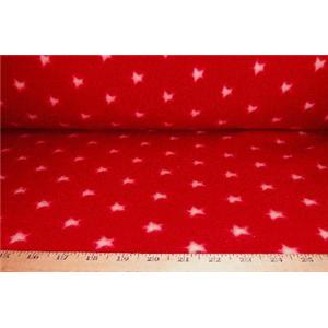 Small Red Star Fleece