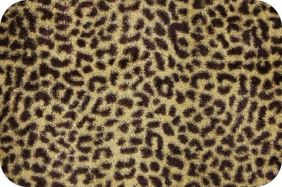 Cheetah Tan/Brown Soft Cuddle SF-17
