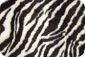 Zebra Black White Soft Cuddle SF-19