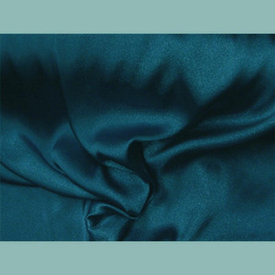 Bridal Satin TEAL
