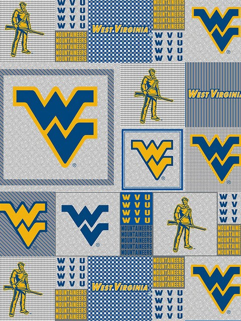 Premium Anti-Pill West Virginia Fleece B917