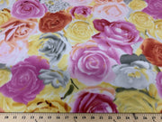 Anti Pill Roses Fleece A22