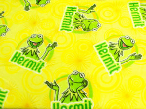 Premium Anti-Pill Kermit The Frog Fleece B237