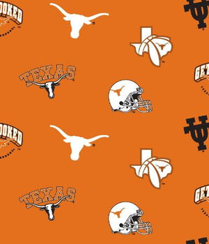 Anti Pill University of Texas Fleece B161