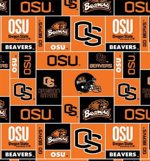 Premium Anti-Pill Oregon State University Fleece B165
