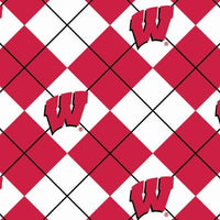 Anti-Pill Wisconsin Argyle Fleece B380