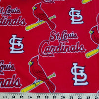 "Anti-Pill St. Louis Cardinals Fleece B415 ""LAST PIECE MEASURES 1 YARD 27 INCHES"""