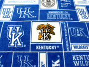 "Premium Anti-Pill Kentucky, University Of Fleece B421 ""LAST PIECE MEASURES 1 YARD 13 INCHES"""
