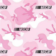 Anti-Pill Camouflage Nascar Pink Fleece B485