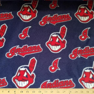 Anti-Pill Cleveland Indians Fleece B503