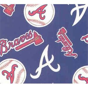 Anti-Pill Atlanta Braves Fleece B505