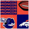 Anti-Pill Denver Broncos Fleece B520