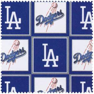 Anti-Pill Los Angeles Dodgers Fleece B567