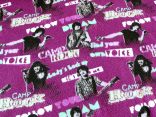 Premium Anti-Pill Camp Rock Jonas Brothers Fleece B583
